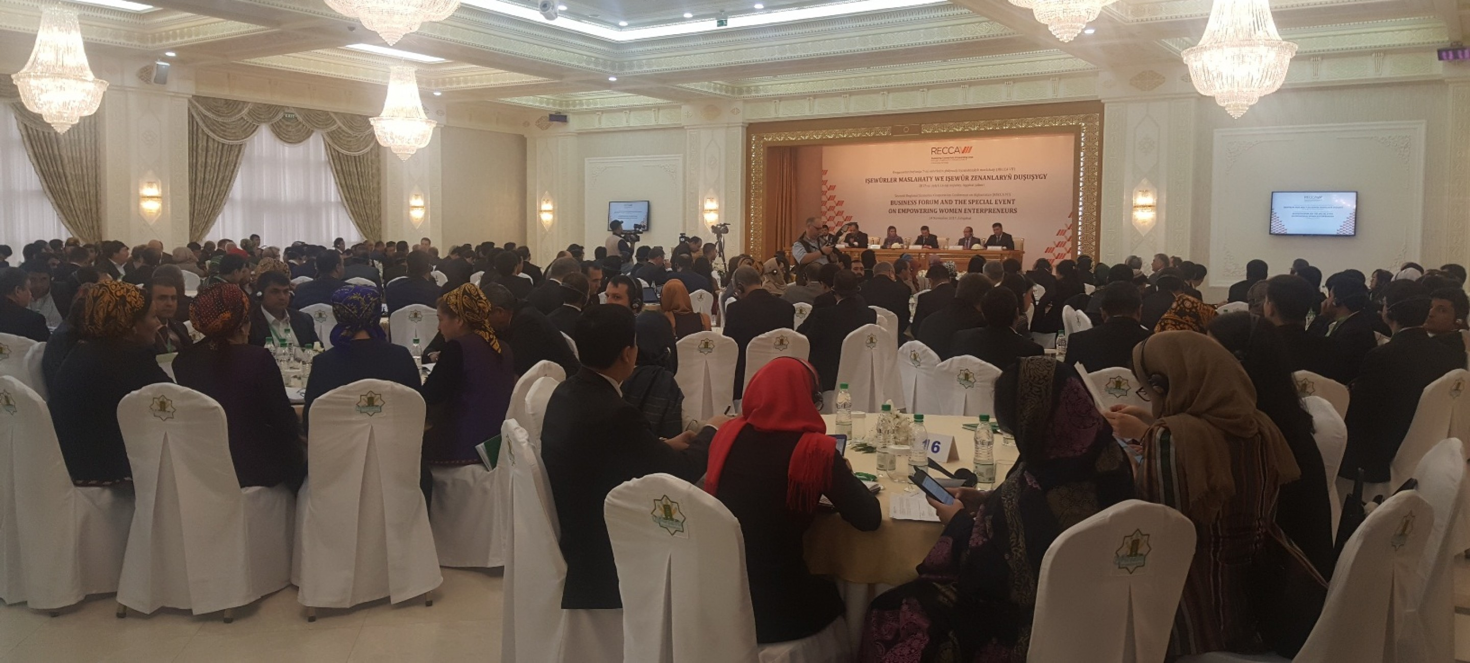 THE BUSINESS FORUM IN ASHGABAT DISCUSSED ASPECTS OF REGIONAL ECONOMIC COOPERATION