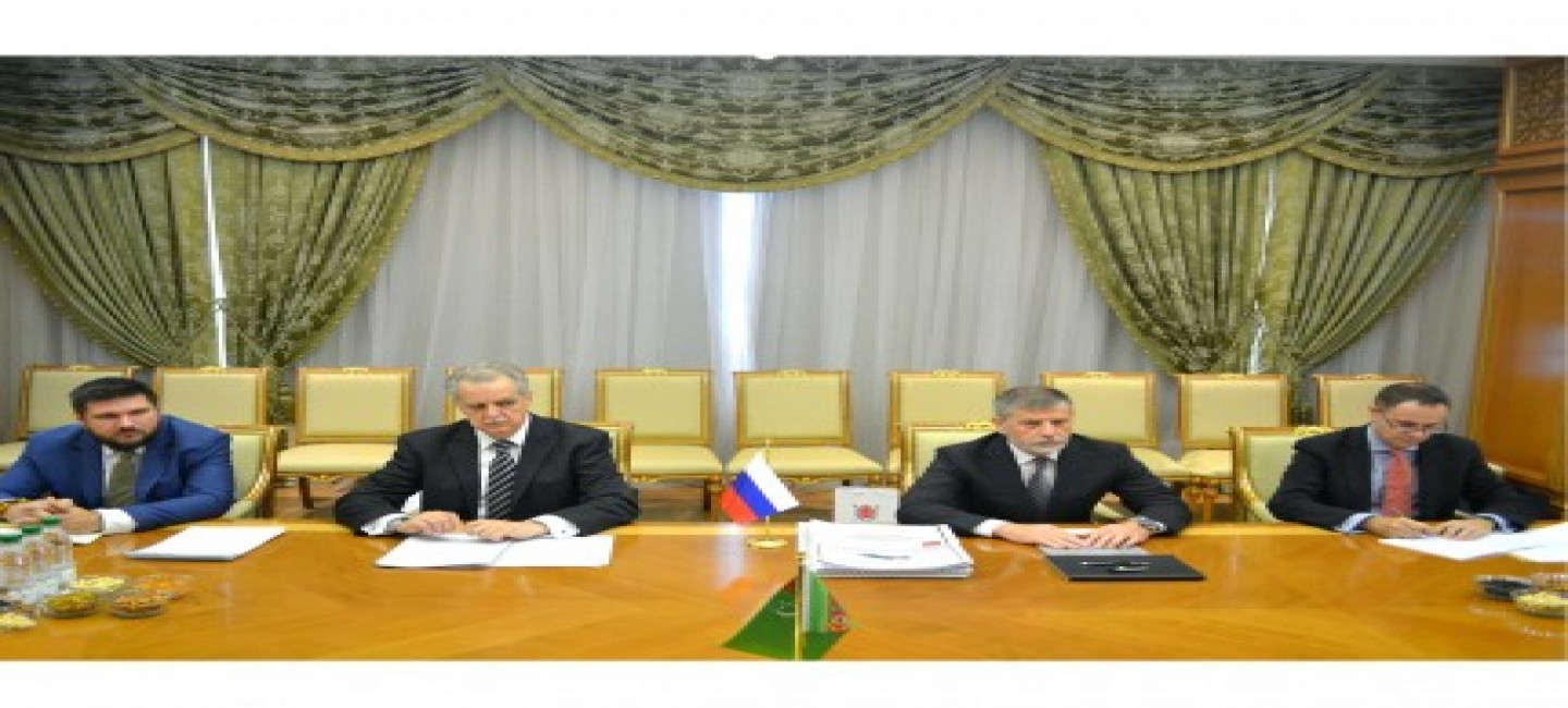 THE DEVELOPMENT OF COOPERATION OF TURKMENISTAN AND RUSSIA IS IN PRIORIT