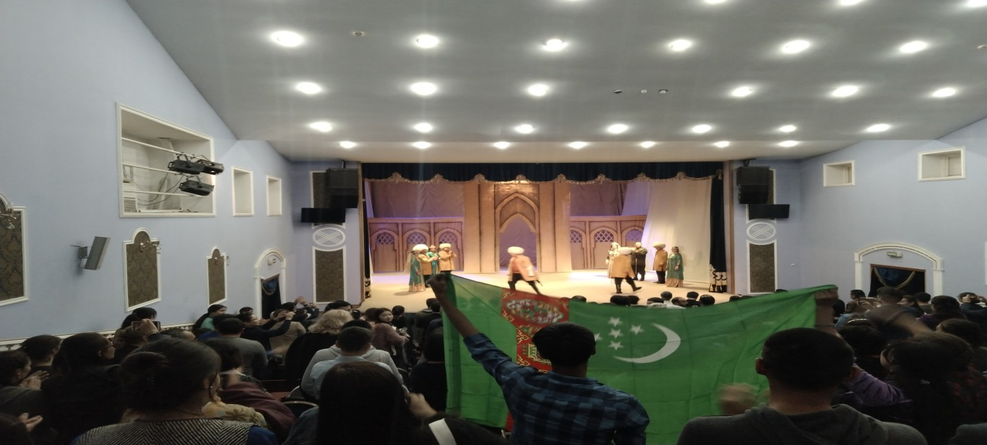 TURKMEN THEATER TOOK PART IN INTERNATIONAL THEATER FESTIVAL