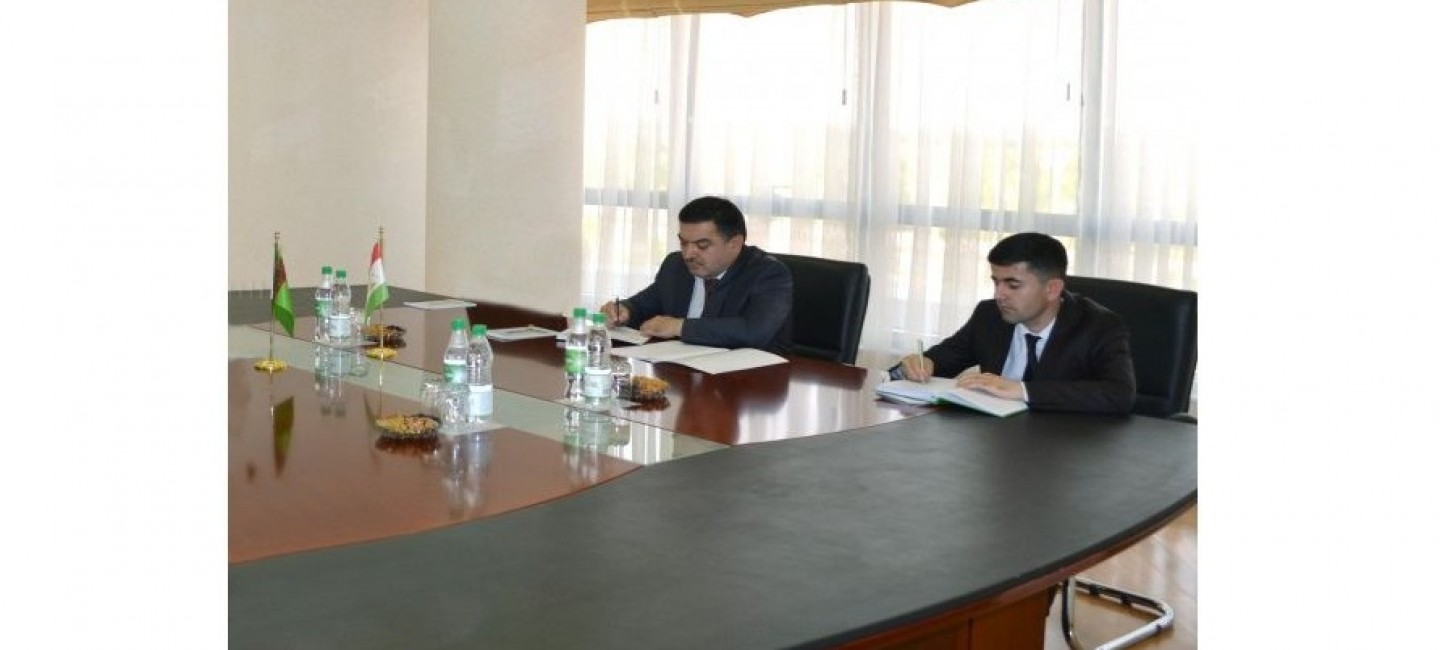MEETING OF THE MINISTER OF FOREIGN AFFAIRS WITH THE AMBASSADOR OF THE REPUBLIC OF TAJIKISTAN
