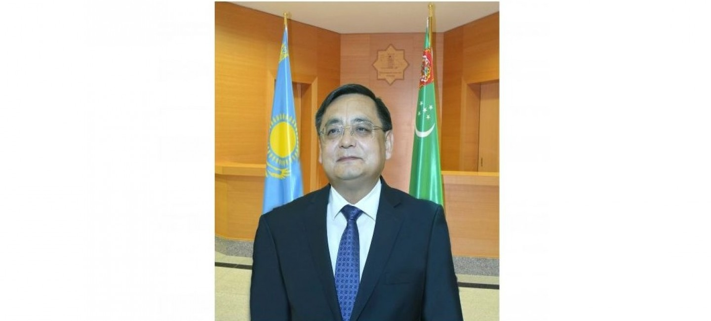 MINISTER OF FOREIGN AFFAIRS OF TURKMENISTAN DISCUSSED THE CURRENT ISSUES OF WIDENING PARTNERSHIP WITH THE AMBASSADOR OF THE REPUBLIC OF KAZAKHSTAN