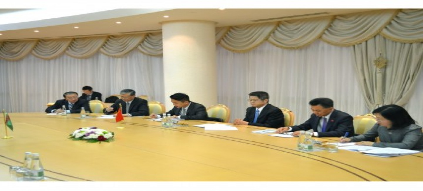 POLITICAL CONSULTATIONS BETWEEN TURKMENISTAN AND THE PRC HELD IN ASHGABAT
