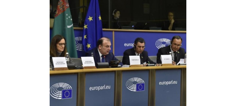 TURKMENISTAN - EU INTERPARLIAMENTARY MEETING HELD IN BRUSSELS