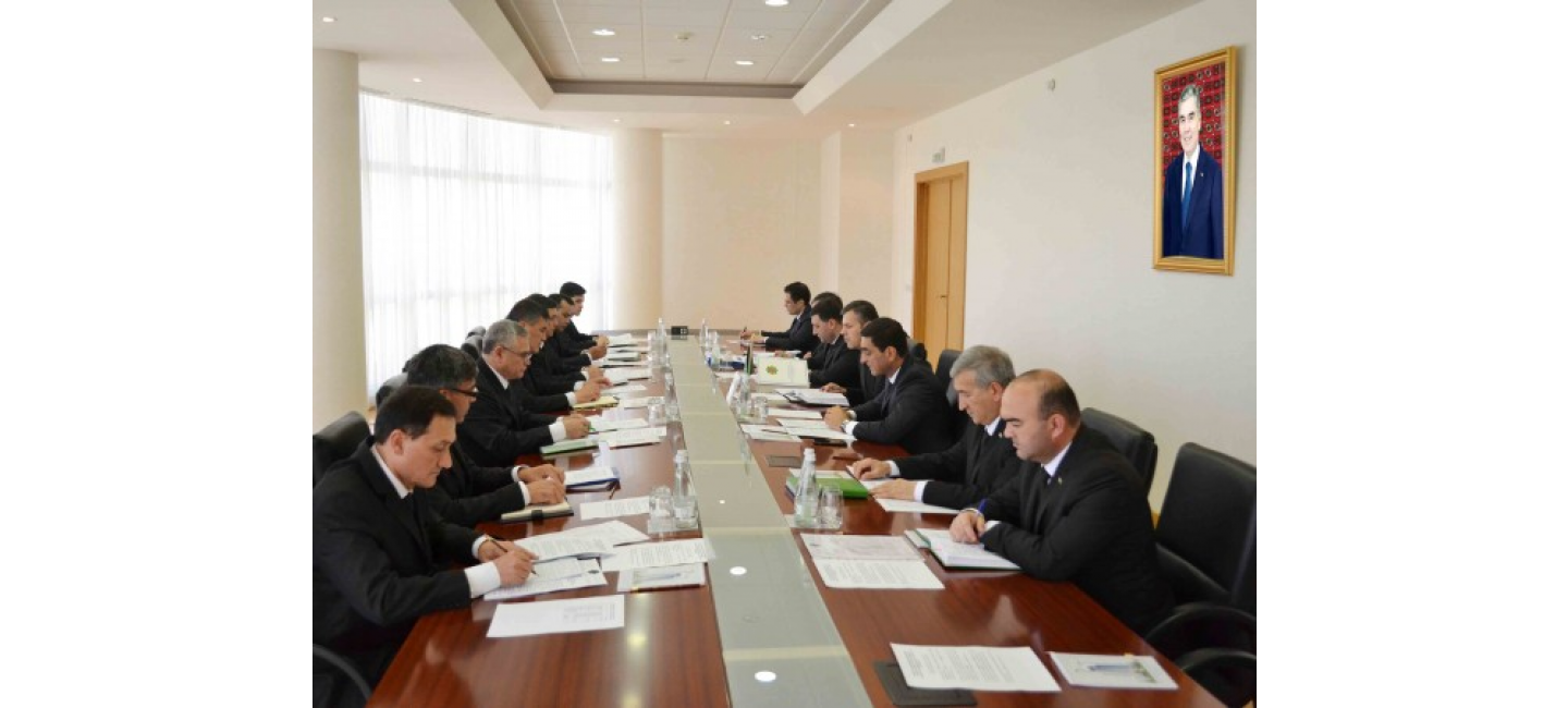 MEETING ON EXPANDING THE LEGAL FRAMEWORK OF INTELLECTUAL PROPERTY IN TURKMENISTAN