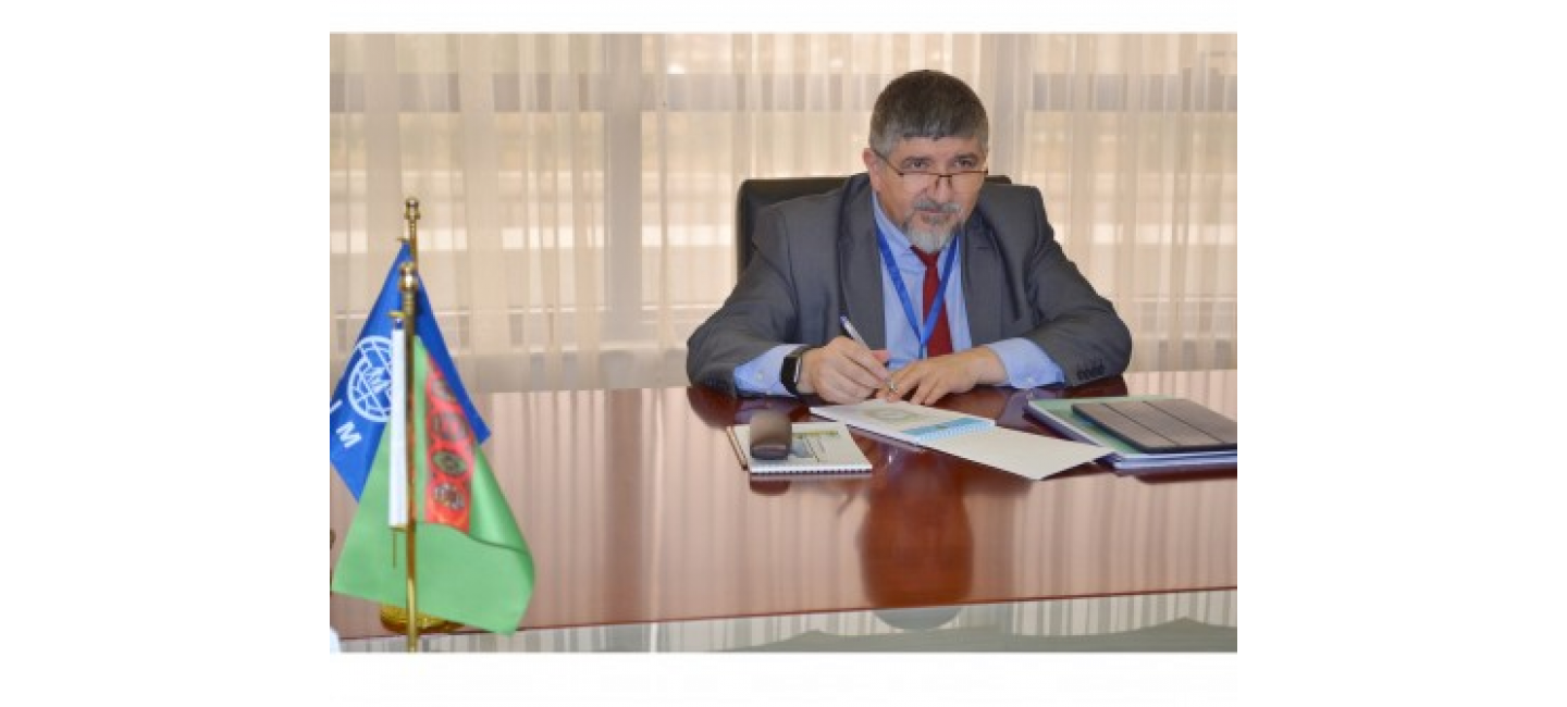 COOPERATION ISSUES BETWEEN TURKMENISTAN AND THE INTERNATIONAL ORGANIZATION FOR MIGRATION DISCUSSED