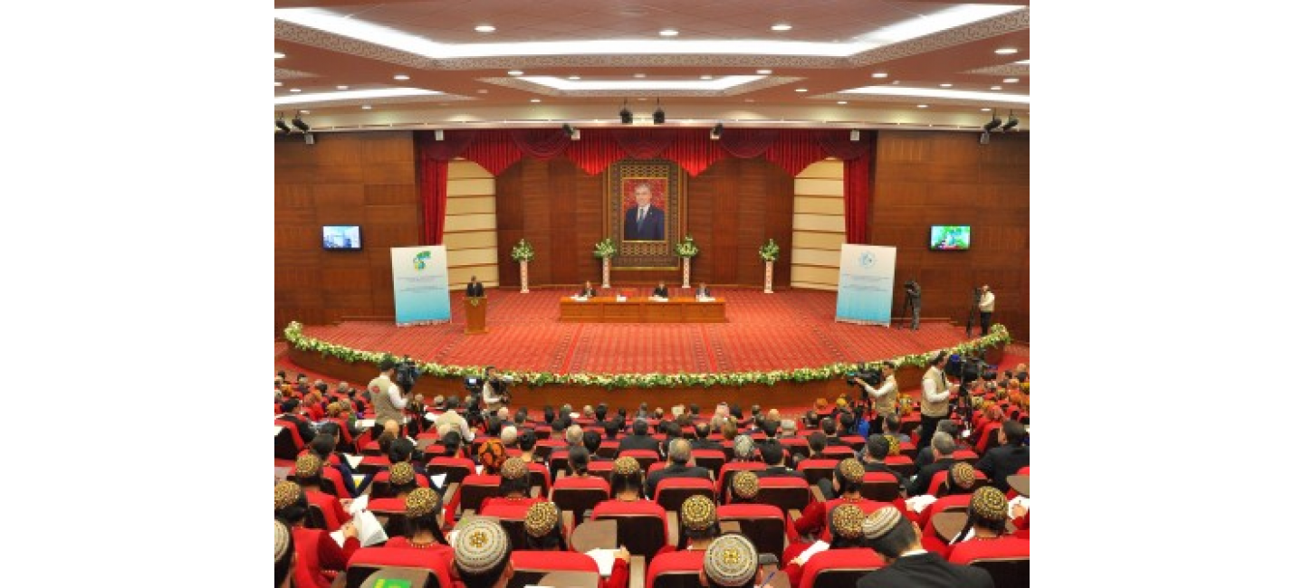 SCIENTIFIC-PRACTICAL CONFERENCE DEDICATED TO THE 25TH ANNIVERSARY OF PERMANENT NEUTRALITY OF TURKMENISTAN AND THE DAY OF DIPLOMATS OF TURKMENISTAN WAS HELD